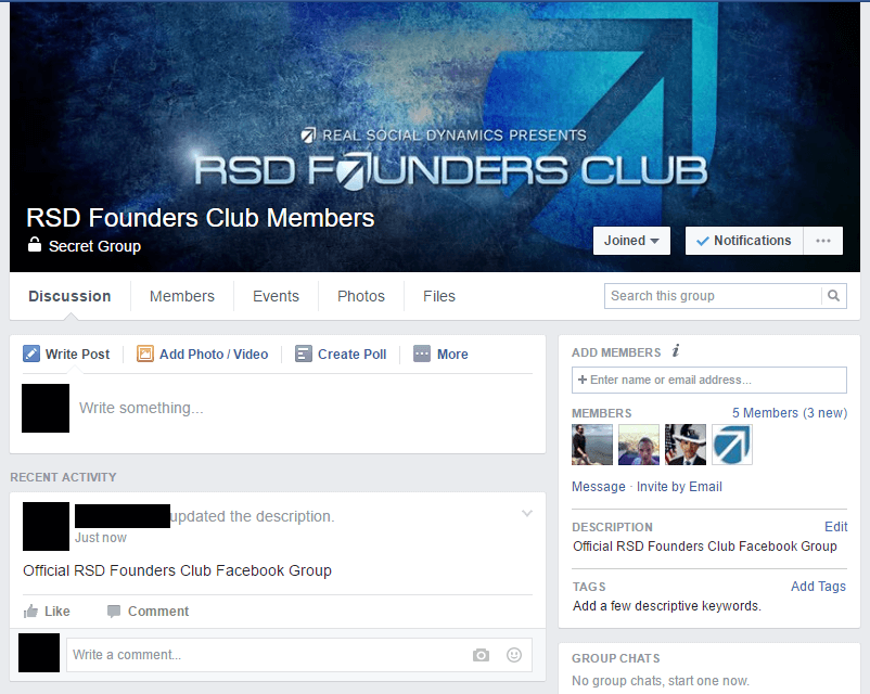 Rsd founderss club gain access to the invitation only facebook group for members of the rsd founders club malvernweather Images